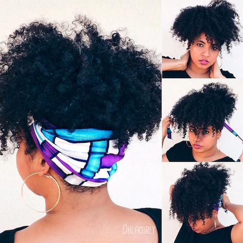 Tuto coiffure - Bandeau Rosie