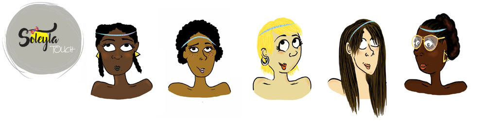 Idées coiffures avec un headband Soleyla®