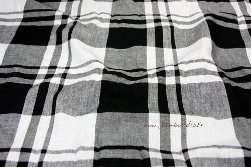 Tissu-madras-noir