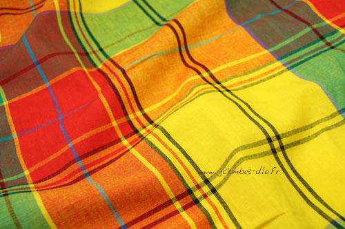 Tissu-madras-orange
