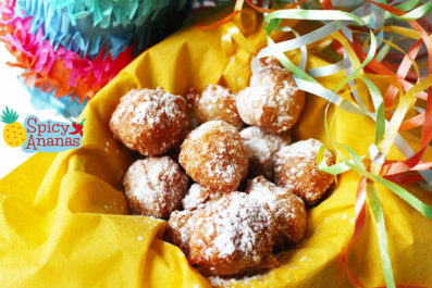 Beignets de carnaval by Spicy Ananas
