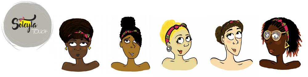 Idées coiffures avec un bandeau Soleyla®