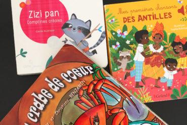Livres de contes et comptines créoles