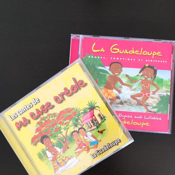 CD contes et comptines créoles